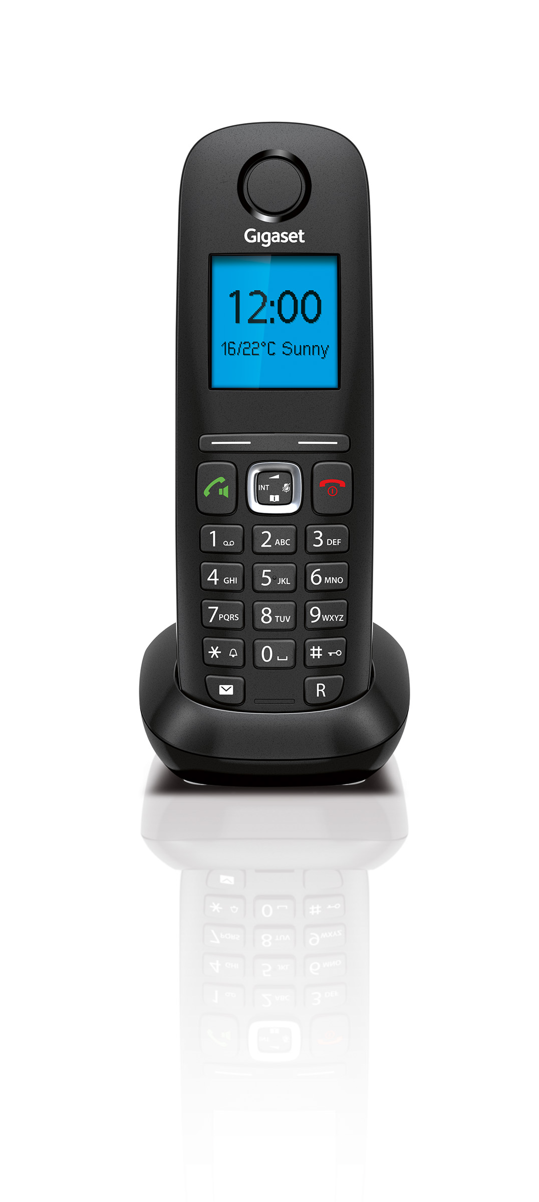 The Internet And Landline Phone With High Contrast Colour Display Telephoneringer Telephonerelatedcircuit Electricalequipment Gigaset A540 Ip