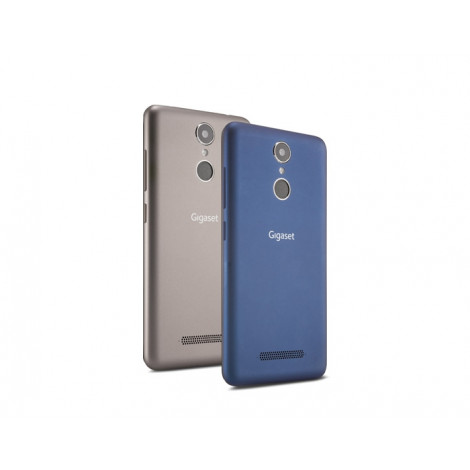 Exchangeable back cover for Gigaset GS170 - mokka and urban blue