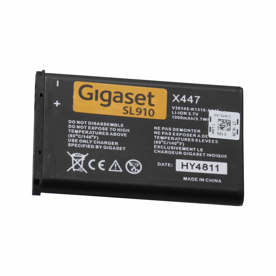 Original Battery for Gigaset SL910