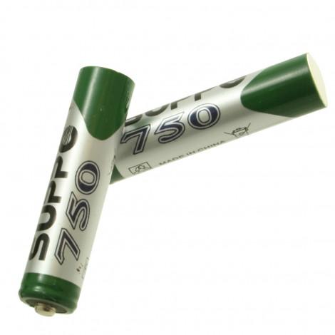 Batteries d'origine AAA NIMH 750mAH (2 pièces) pour téléphones sans fil Gigaset