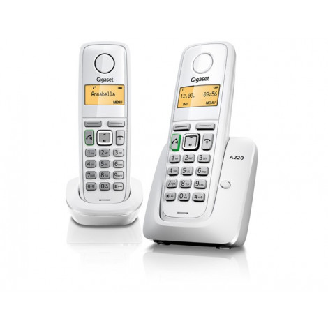 Gigaset A220 Duo (white)