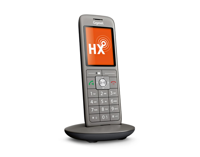 Cordless telephone for routers that support DECT