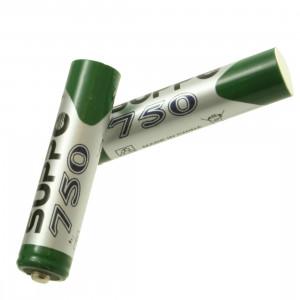 Batterie stilo originali AAA NIMH 750mAH (2 pezzi.) per cordless Gigaset