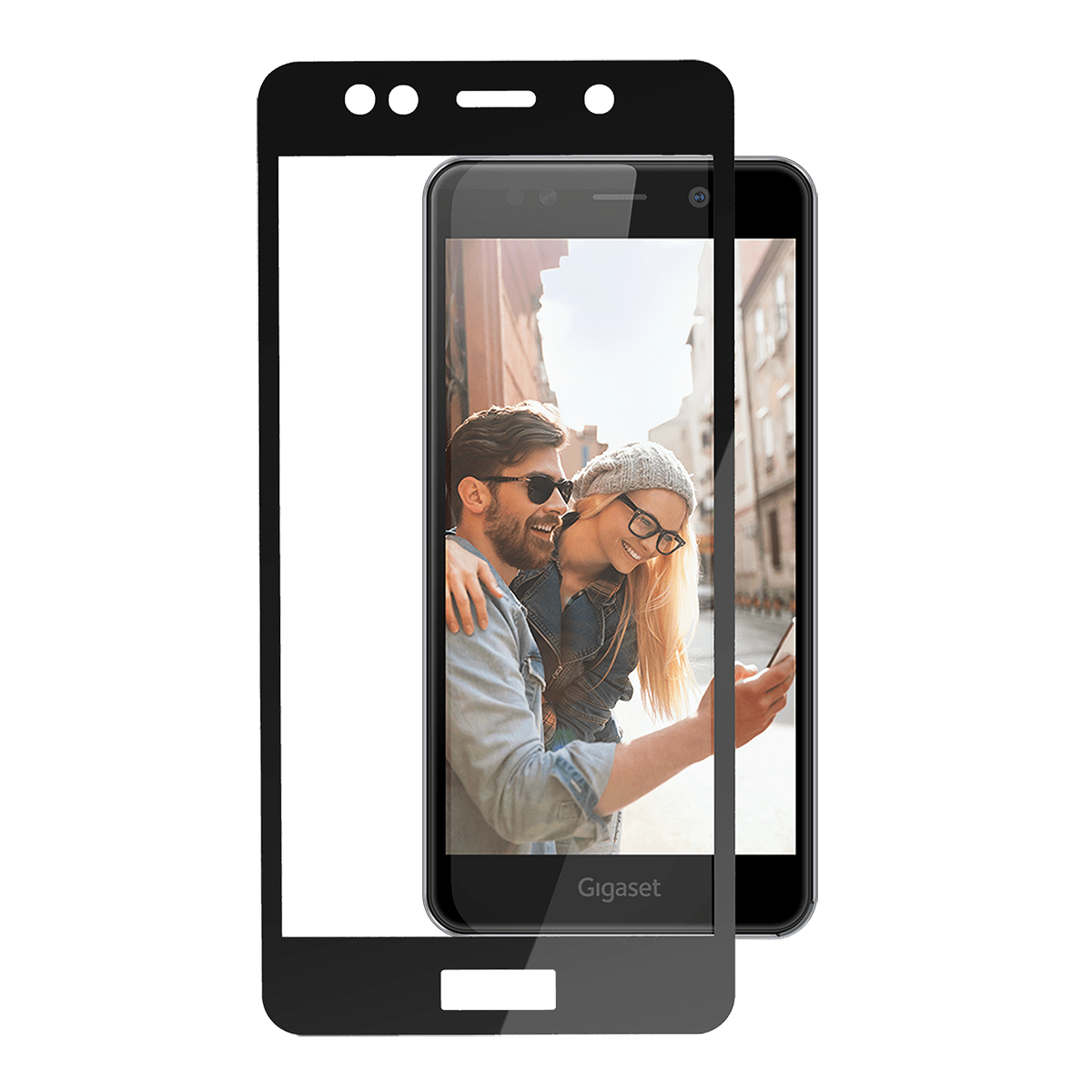 Gigaset Full Display HD Glass Protector (GS180)