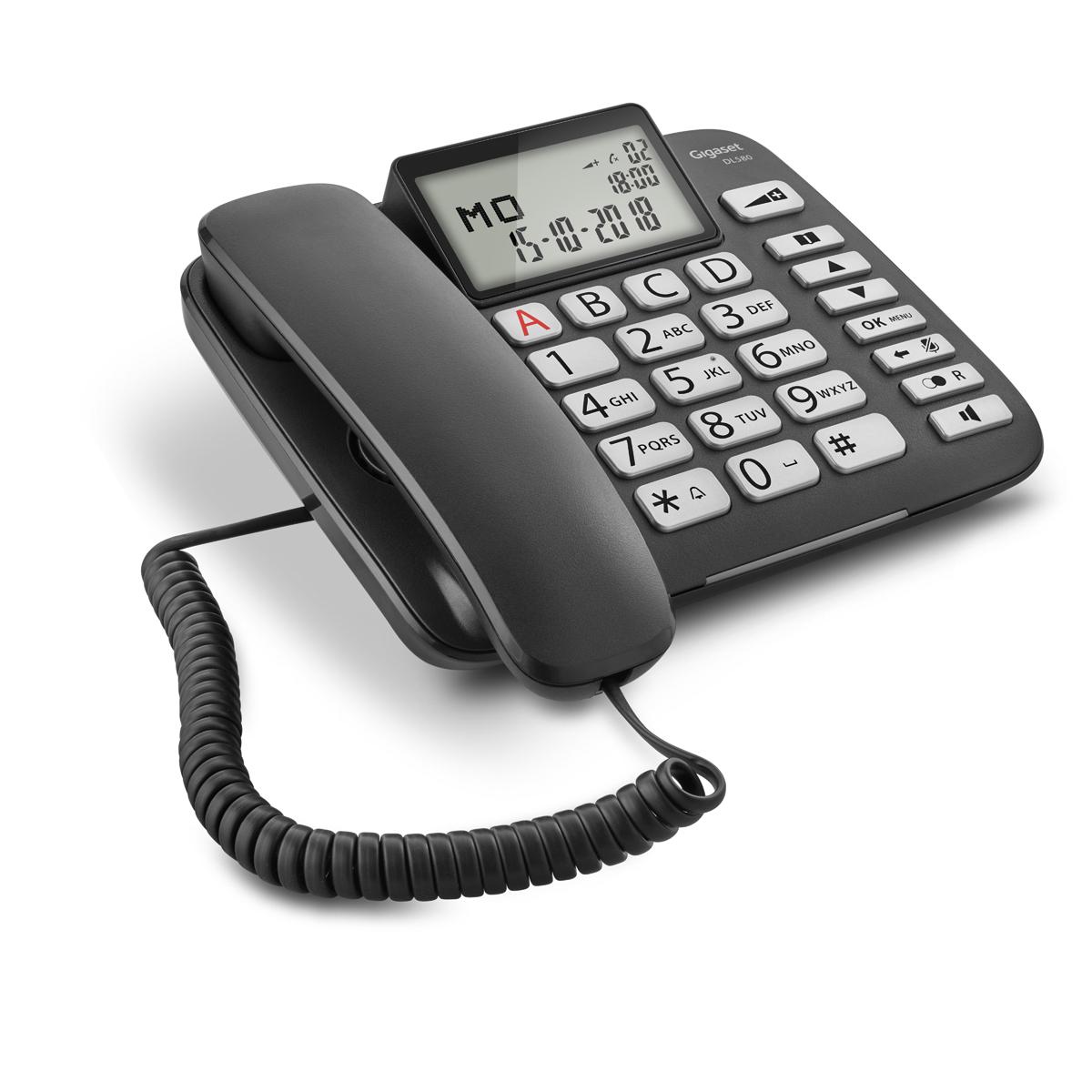 Buy Gigaset DL580 corded telephone