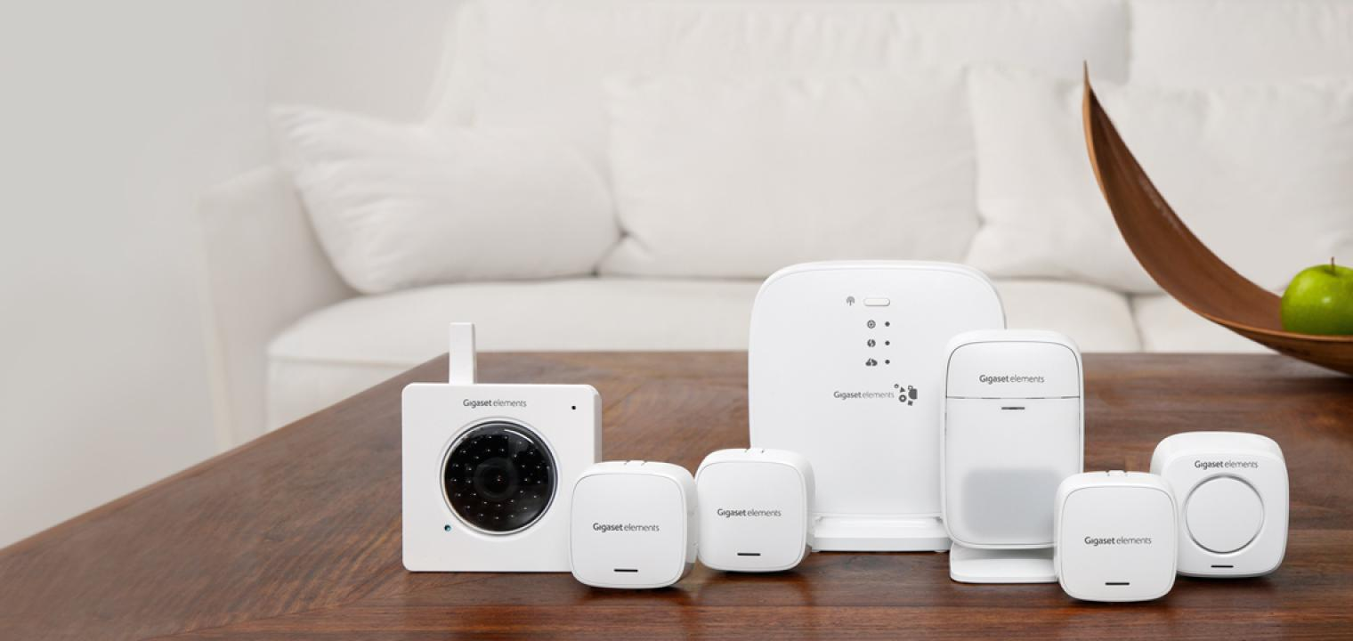 smart home ger te von gigaset kaufen. Black Bedroom Furniture Sets. Home Design Ideas