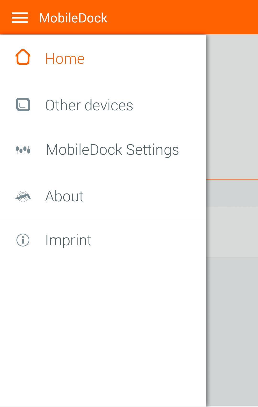 MobileDock_navigation_drawer